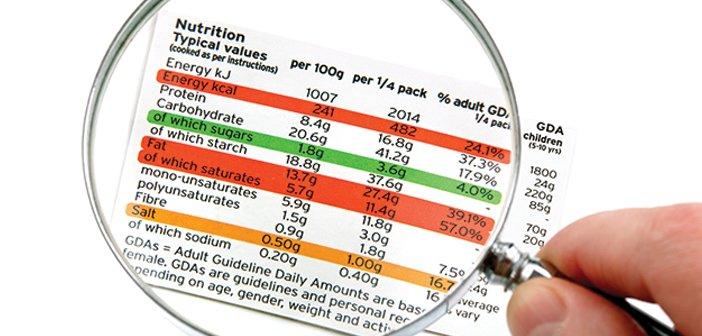 Valori nutrizionali: impariamo a leggere le etichette