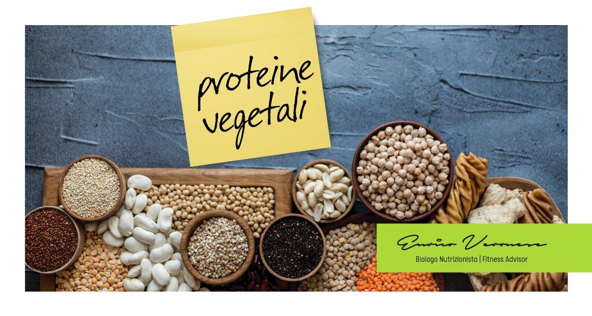 Dieta proteine vegetali