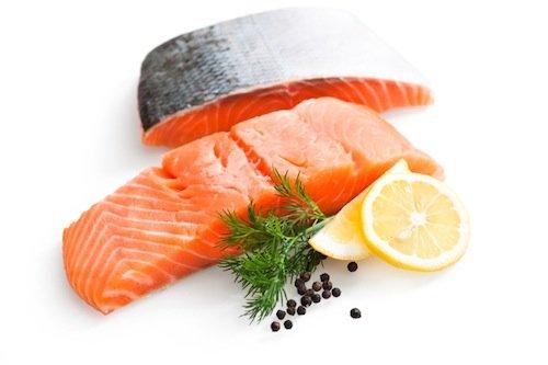 Salmone i grassi buoni nella dieta