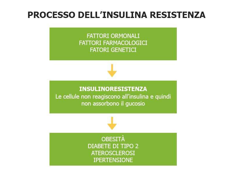 processo insulinoresistenza